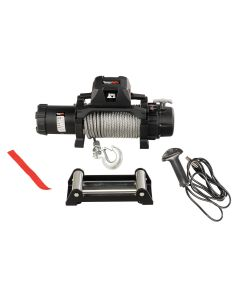 Trekker C12.5 Winch, 12,500lb Cable Wired