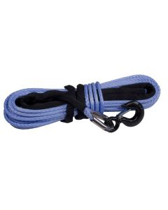 Synthetic Winch Line, Blue, 3/8-inch x 94 feet