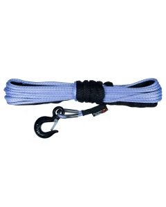 Synthetic Winch Line, Blue, 1/4-inch X 50 feet