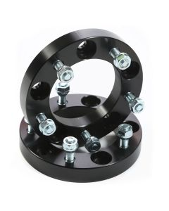 Wheel Spacers, 1.00-Inch, Black, 86-05 Suzuki