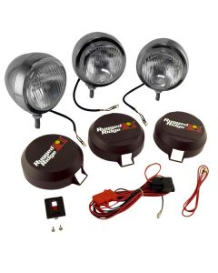 6-In Round HID Offroad Fog Light Kit, SS Housing