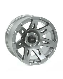 XHD Wheel, Gun Metal, 17x9 5 on 5; JK/JL/JT