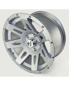 XHD Wheel, Silver, 17x9 5 on 5