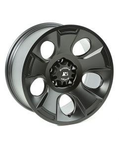 Drakon Wheel, 18x9, Black Satin; 07-20 Jeep JK/JL/JT