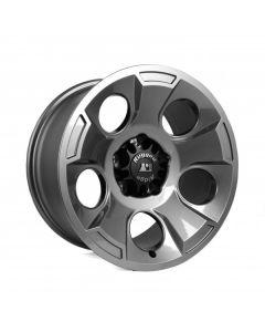Drakon Wheel, 17X9, Gun Metal, 07-19 Wrangler JK/JL