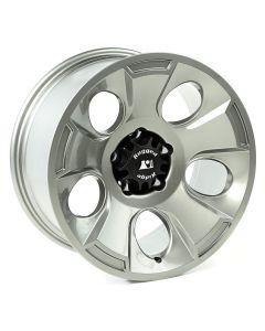 Drakon Wheel, 18x9, Gun Metal; 07-20 Jeep JK/JL/JT