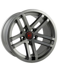 Jesse Spade Wheel, 17X9, Satin Gun Metal; JK/JL/JT