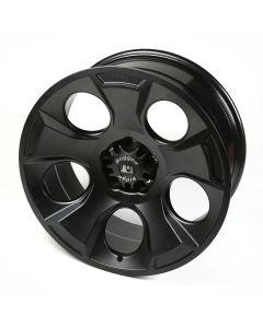 Drakon Wheel, 20X9, BLK Satin; 07-20 Jeep JK/JL/JT