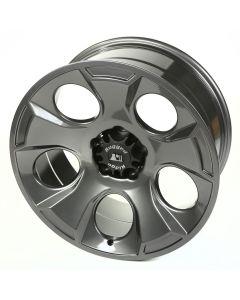 Drakon Wheel, 20X9, Gun Metal; 07-20 Jeep JK/JL/JT