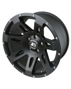 XHD Wheel, Black Satin, 18x9, 07-18 Wrangler JK