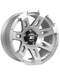 XHD Wheel, Silver, 18x9, 07-18 Wrangler JK
