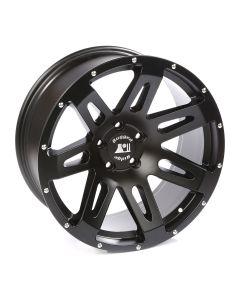 XHD Wheel, Satin Black, 20-Inch x 9 Inch; JK/JL/JT