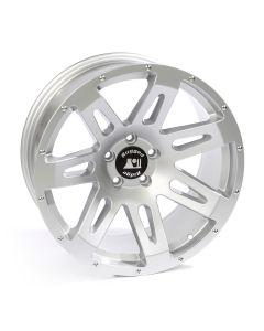 XHD Wheel, 20x9, Silver; 07-19 Jeep Wrangler / 2020 Gladiator