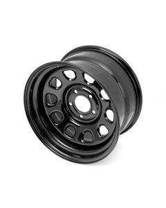 Blk D-Window Wheel 17x9-in 5x5-In bolt pattern