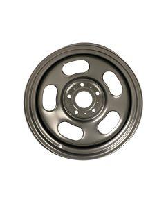 Gun-Metal Steel Wheel, 17x9; 07-19 JK/JL