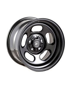 Black Steel Wheel Hubcentric with Center Cap, 17x9