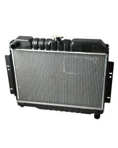 Radiator,2 Core, GM V8 Engine Conversion, 72-86 CJ