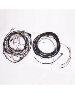 Wiring Harness With Cloth Cover, 57-65 Jeep CJ5