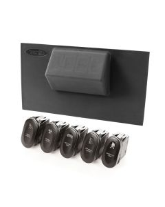 Etched Lower 4 Switch Panel Kit, 07-10 JK
