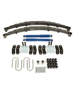 Leaf Spring Kit, Rear, W/ Shocks; 87-95 Wrangler