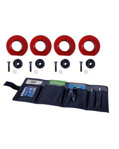 2-Inch Coil Spring Spacer Kit, 97-06 Wrangler (TJ)