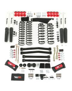 4-Inch Lift Kit with Shocks, 07-18 Wrangler JK
