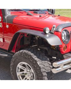 All Terrain Flat Fender Flare Kit, 07-18 Wrangler