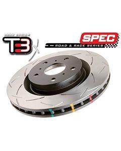 DBA (4929S) 4000 Series Slotted Disc Brake Rotor, Rear