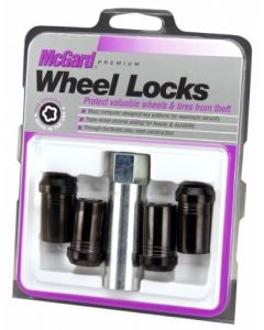 Tuner Style Cone Seat Wheel Lock Set; Set of 4; Se