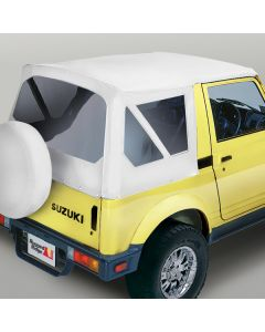 Factory S-Top White Denim Clear Windows Samurais