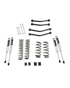 """4"""" Lift Kit w/Fox Shocks, w/Arms; 18-20 JL, 4Dr"""
