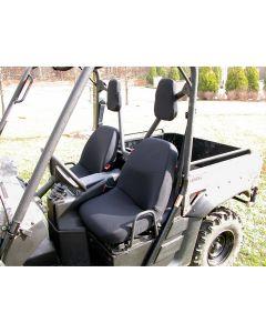 Fabric Seat Covers, Black, Yamaha UTV's