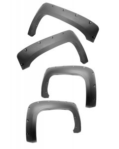 Fender Flare Kit; 07-11 Chevy 1500 2500HD 3500HD