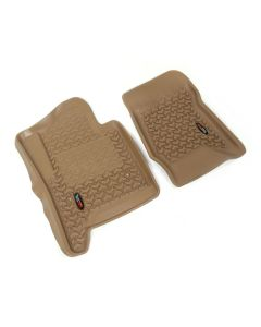 Floor Liner, Front; Tan, 2014-2018 GM Full-size Pickups and SUVs