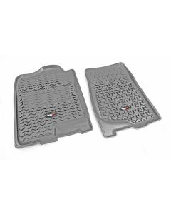Floor Liner, Front; Gray, 2007-2013 GM Full-size Pickups and SUVs