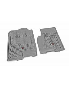 Floor Liner, Front; Gray, 2009-2017 Chevrolet / GMC / Buick  / Saturn Traverse, 07-19 Acadia, 08-17 Enclave, 07-10 Outlook