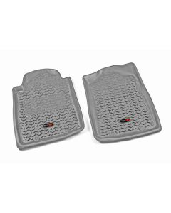 Floor Liner, Front; Gray, 2012-2015 Toyota Tacoma Regular / Access / Double Cab (Automatic)