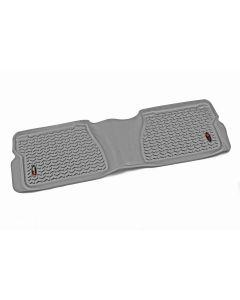 All Terrain Floor Liner, Rear, Gray; 12-18 Toyota Tundra