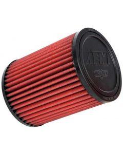 AEM Aif Filter, 3inFLG/ 5inOD/ 6-1/2inH Dry Flow - 21-2036DK