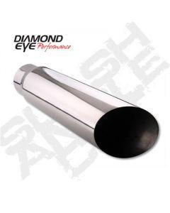 Diamond Eye Exhaust Tips 4512BAC-DE
