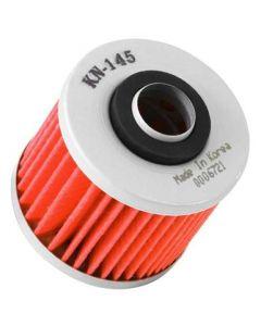 K&N Yamaha / MUZ / MZ / Sachs / Aprilia / Derbi 2.156in OD x 2.313in H Oil Filter - KN-145