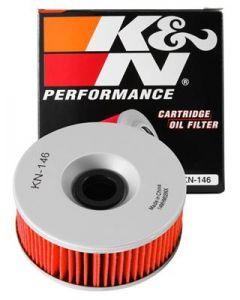 K&N Yamaha 3.969in OD x 1.531in H Oil Filter - KN-146