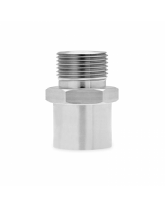 Mishimoto Stainless Steel Sandwich Plate Adapter, M22