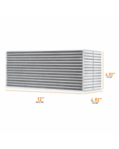 Mishimoto Universal Air-to-Water Intercooler Core - 12in / 5in / 5in