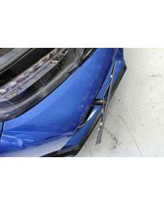 License Plate Relocate, 10th Gen Civic Si & Type R