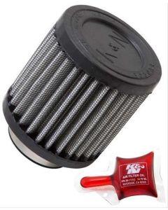 K&N RU-0155 Universal Clamp-On Air Filter